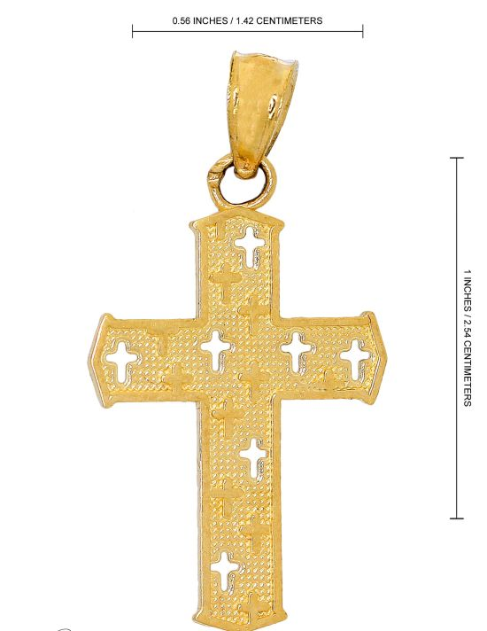 PC5324 - Cross Pendant